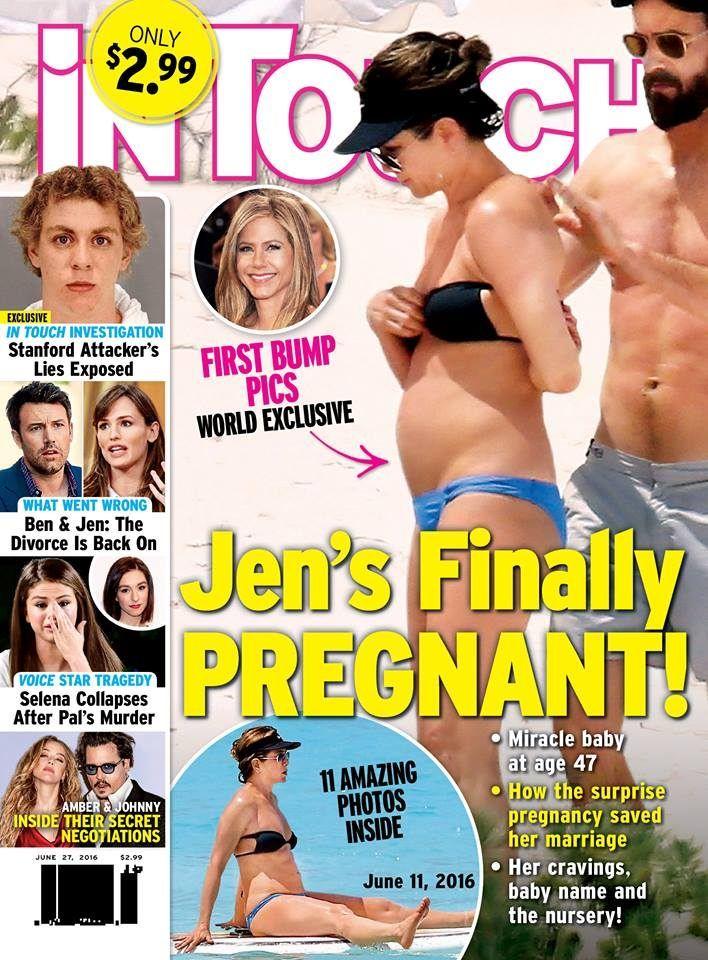 Et si Jennifer Aniston était enfin enceinte ? | Maxi