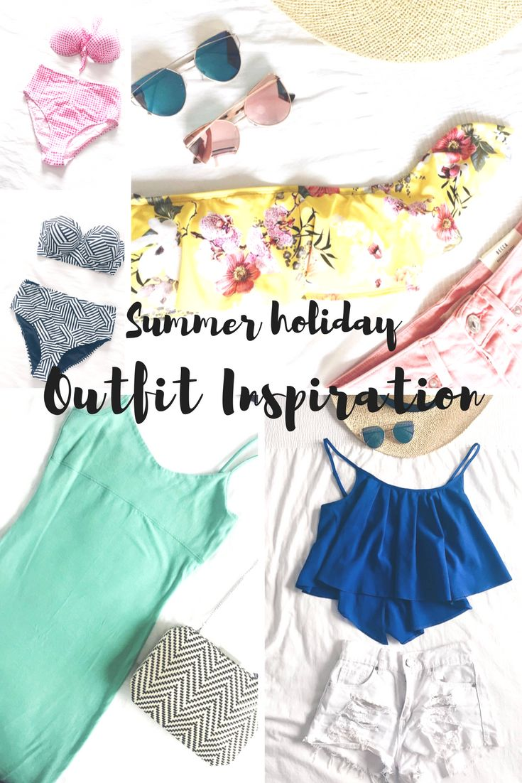 Summer holiday outfit inspiration for females. From beach attire for the most stylish vacation to evening dresses and the best swimwear this summer. Your summer trip is about to get a whole lot more glamorous thanks to this blogger style inspiration.  Fashion | Stylish travel | Vacation clothes | Holiday outfits | What to wear this summer for women | High waisted bikinis | Beachwear