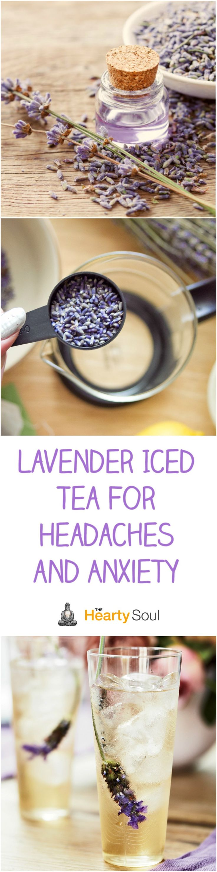 Center for holistic herbal therapy - Lavender Iced Tea For Headaches And Anxiety