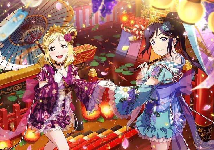 """Matsuura Kanan"" ""Ohara Mari"" Love live, Sea wallpaper, Love"
