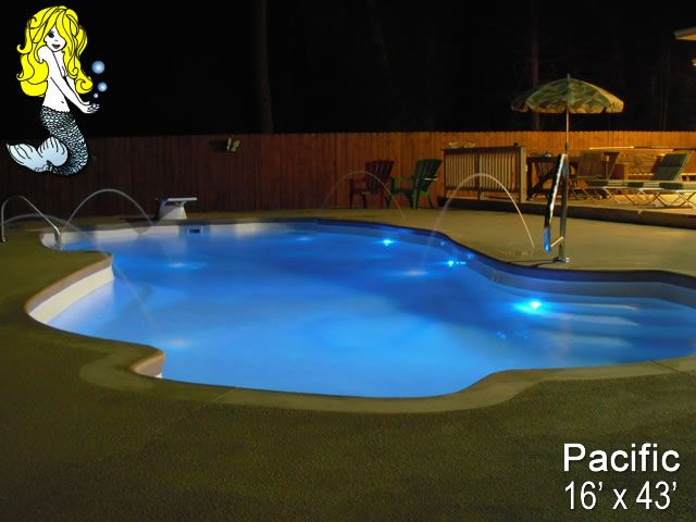 30 Best Images About 8 Depth Fiberglass Pools On