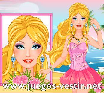 #barbie   está preparada para #vestir con #ropamoderna #juegosdevestir   #juegosdebarbie    http://www.juegos-vestir.net/jugar/barbie-quiere-ser-moderna