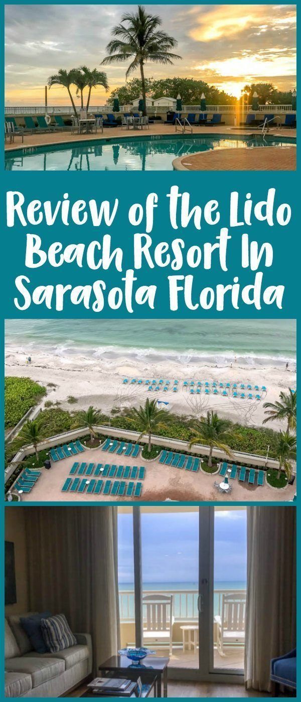 Review of the Lido Beach Resort located on Lido Key in Sarasota, Florida - a great family beach hotel.