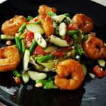 garnalen met knapperige groente 2