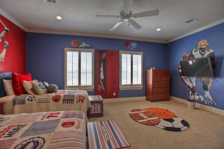 55+ Marvelous Children\'s Bedroom Design Inspiration with Sports ...