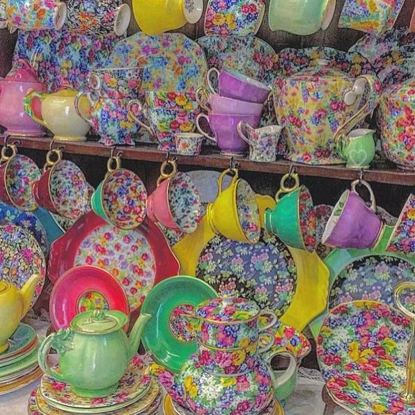 Heavenly Collection of Chintz!!!!