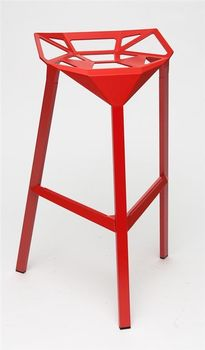 HOME Design :: Hoker, Stołek barowy Gap Red (DONE_st_czerwony)