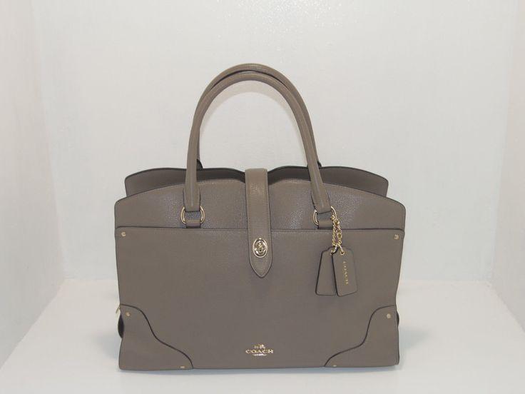 #MK #MickaelKors windowpub.com NWT New Coach Handbag Mercer Satchel Bag Grain Leather Purse 37167 #MK #MickaelKors windowpub.com