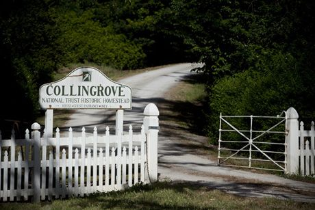Collingrove is set on fourteen acres of land, a large lawn area and manicured gardens surround the homestead, beyond the gardens are rustic paddocks with century old English trees and ancient gums. The homestead is built of local stone and has a double bay window frontage with large verandas that are perfect for photographs. It is still furnished with the original family antiques making it real and not an interpretation of the era.