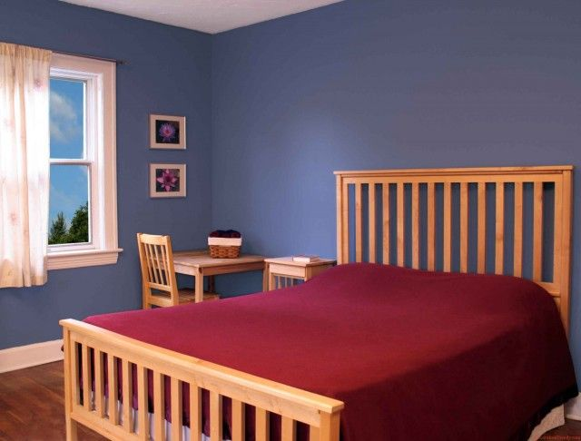 Decorations Inspiration ~ Best Bedroom Colors Lovable Design For Home  Interior: Divine Pine Wooden Rail