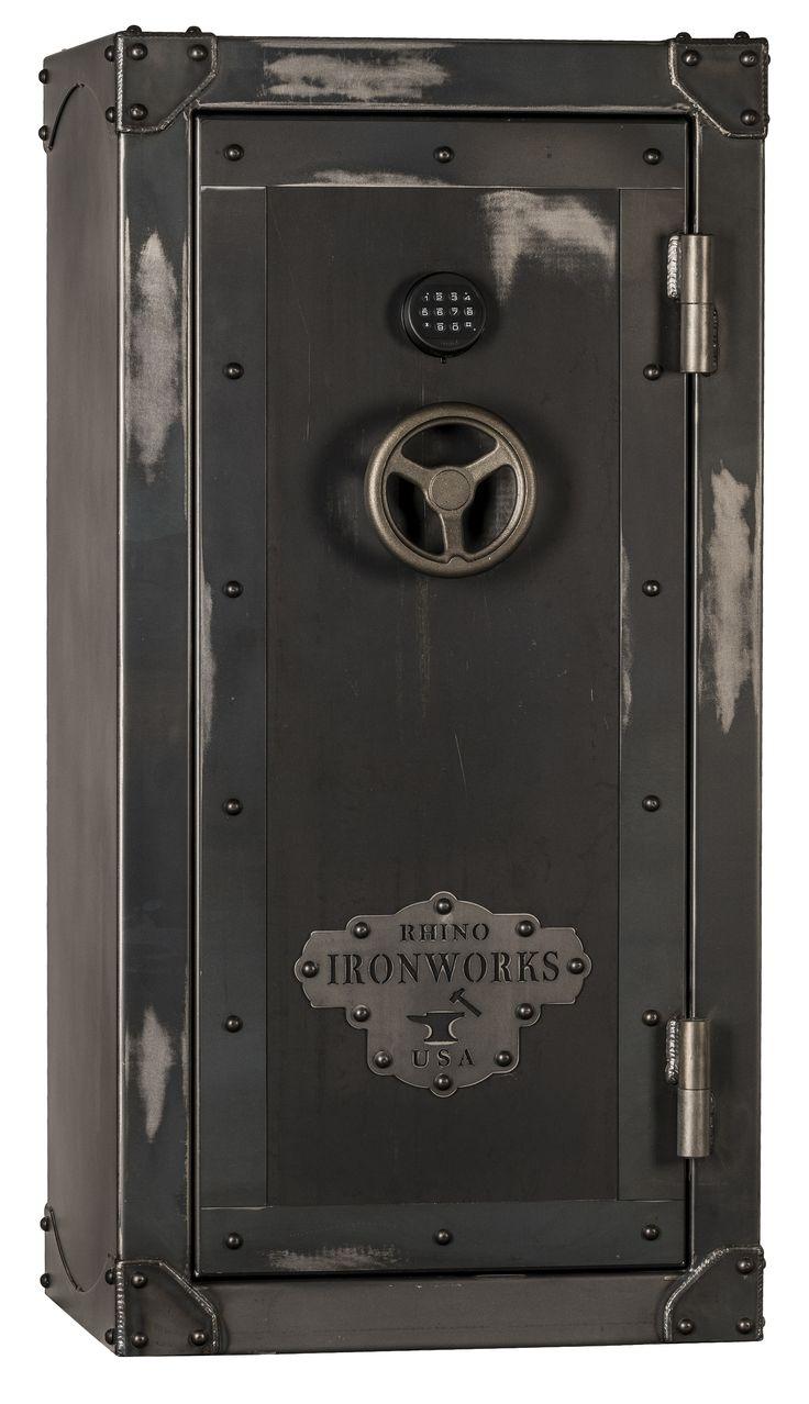 Rhino CIWD6030X Ironworks Series 28 Long Guns 6 Pistol Pockets Gun Safe #Gunsafes.com