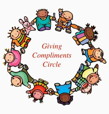 The Creative School Counselors: Teaching Students how to Give Compliments (fill-a-bucket)