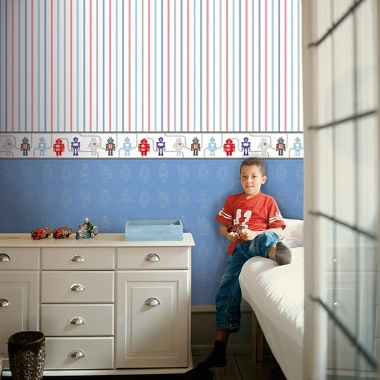 13 best images about papel de parede infantil hoopla on - Papel de pared bebe ...