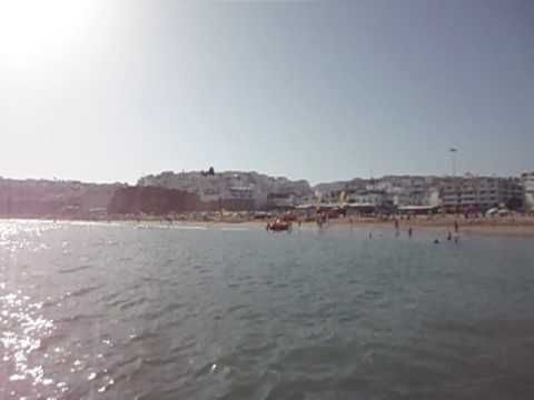 Albufeira Algarve Beach Summer 2016 - YouTube