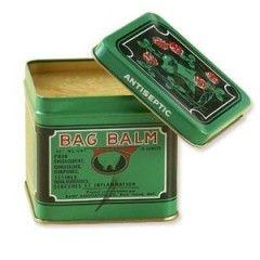 Bag balm helps heal dry splitting nails!