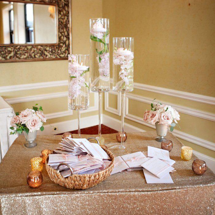 25 best ideas about wedding entrance table on pinterest wedding entrance wedding welcome - Entrance table decor ideas ...