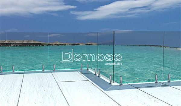 26 best glass railing engineering showcases images on for Pool design engineering