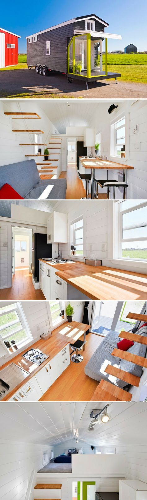 A custom home from the Mint Tiny House Company