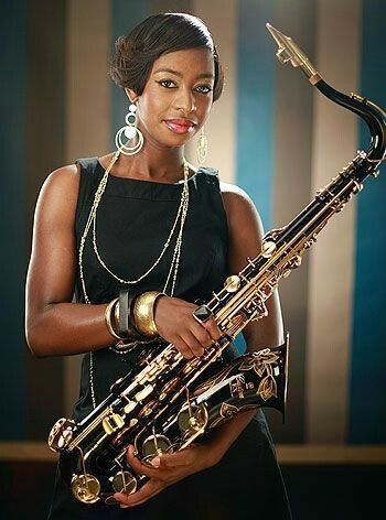 YOLANDA, THE SAX PLAYER… Yolanda Brown, jazz