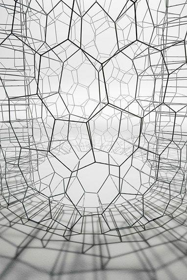 Hiroshi Yoneya: 'Form' (detail), 2013 Japan / Sacred Geometry