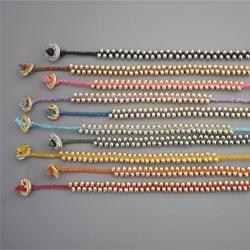 DIY Beaded Bracelet: Braids Beads, Handmade Beads, Diy Beads Bracelets, Waxen Linens, Beads Diy, Diy Jewelry, Chords Bracelets Diy, Beads Jewelry, Linens Chords