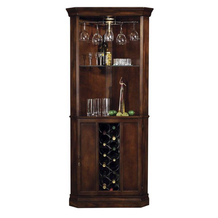 Corner Wine Cabinet Design
