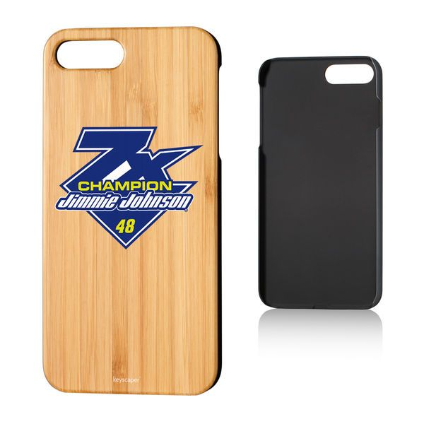 Jimmie Johnson 2016 Sprint Cup Champion Bamboo iPhone 7 Plus Case - $29.99