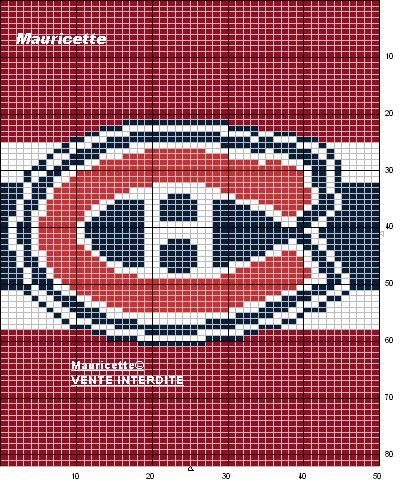 couverture tricot logo canadien - Recherche Google