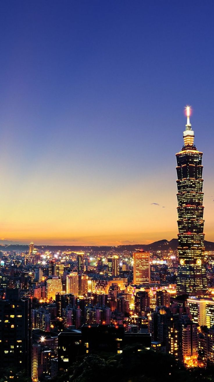 Wallpaper iphone bright - Taipei Iphone 6 Wallpaper 31206 City Iphone 6 Wallpapers