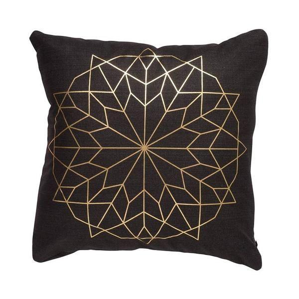 Jason Gold Flower Cushion | Koop.co.nz