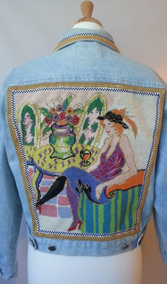 17 best ideas about demin jacket on pinterest