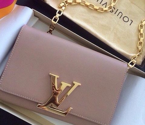 Louis Vuitton Louise PM leather bag