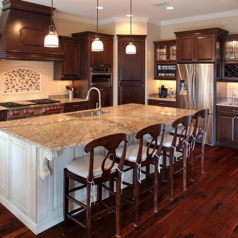 Dark Kitchen Cabinets Images