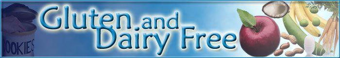 Gluten and Dairy Free website