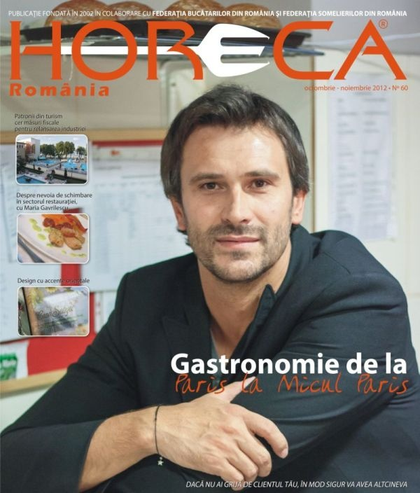 Issue 60 - Nicolai Tand, manager La Cantine de Nicolai