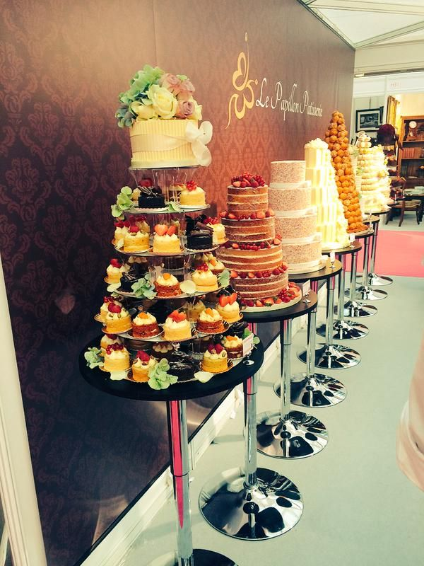 Yummy Cakes At The National Wedding Show Autumn 2017