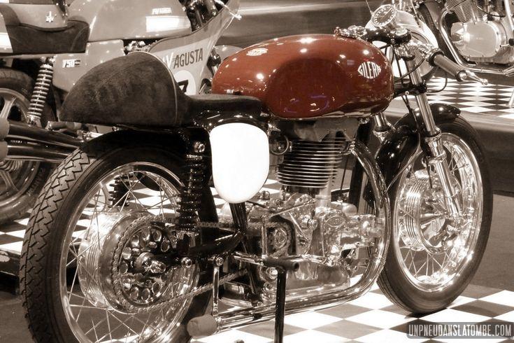 Moto Retro Wieze 2014 : une belle expo de cafe-racers italiens...