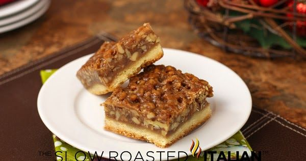 The Slow Roasted Italian - Printable Recipes: The Best Ever Pecan Pie Bars