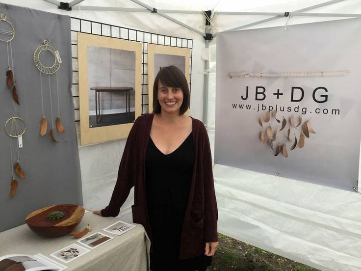 Dayna Gedney - the recepient of the Richard Silver Special Award for Arts and Crafts at this year's Cabbagetown Festival