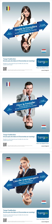 Annonceur : Tango Campagne : Freeborders Agence : Concept Factory Publication : septembre 2013