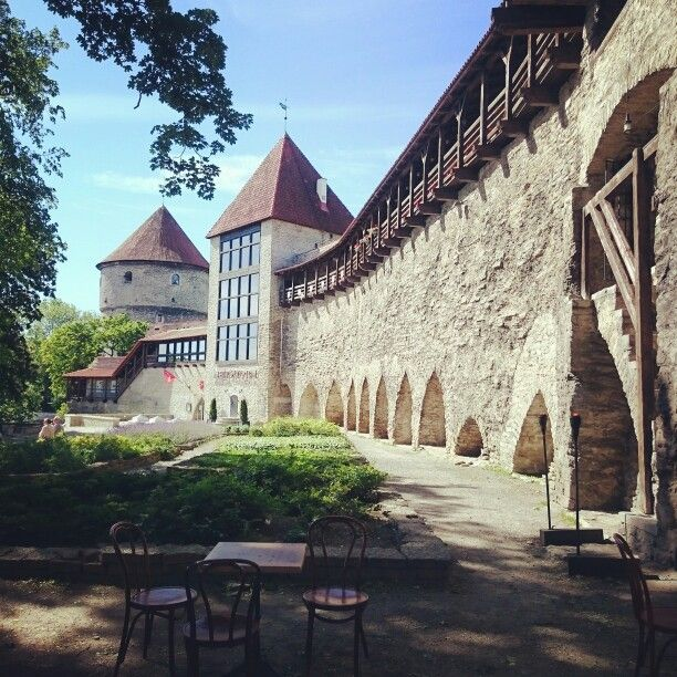 Danish King's Garden. #medieval #history #travel #Estonia #Tallinn