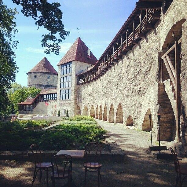 Danish King's Garden. #medieval #history #travel #Estonia #Tallinn