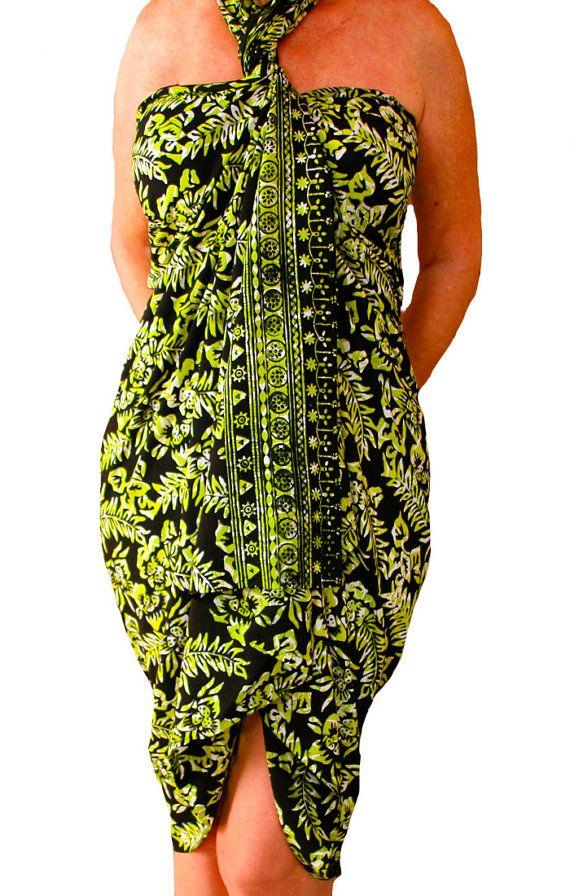 PLUS SIZE Clothing Hawaiian Sarong Dress or Skirt  by PuaWear