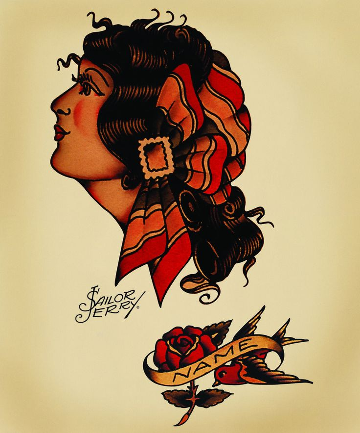 17 best ideas about gypsy girl tattoos on pinterest for Sailor jerry gypsy tattoo