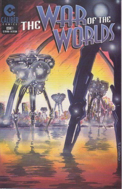 War of the Worlds #1 - an excellent version of the story