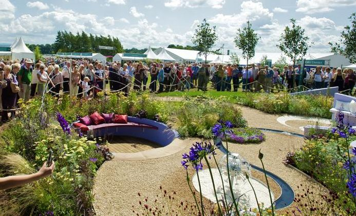 """RHS Flower Show Tatton Park - 25th - 28th July - Spectacular floral displays mix with cutting edge garden design from some of the country's finest young talent. A celebration of everything """"grow your own""""goes hand in hand with stylish shopping and the elegance of Ladies Day on Friday 26th."""