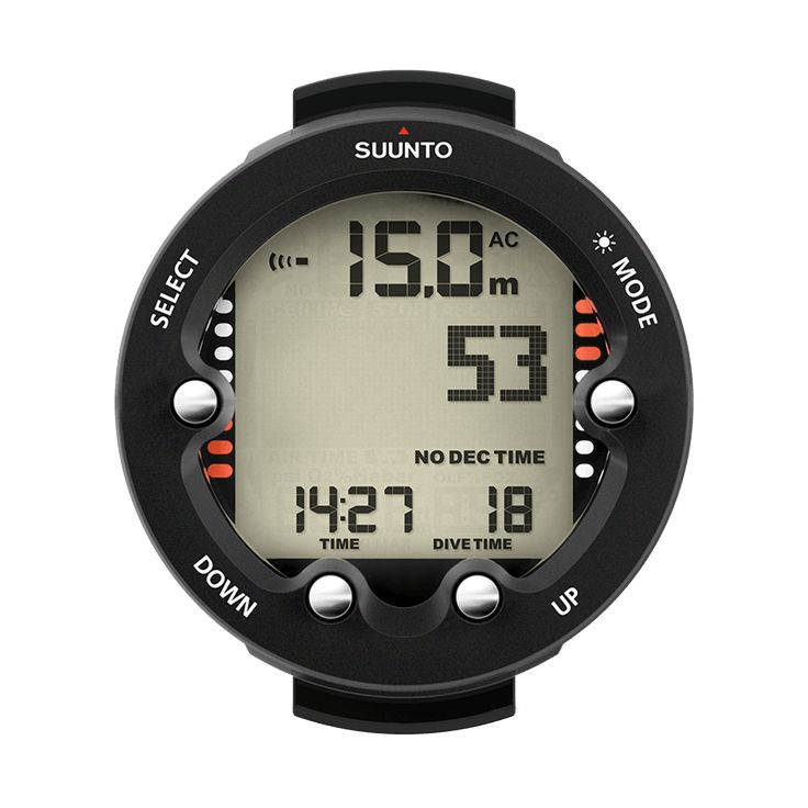 Suunto Zoop Novo Black - en lättanvänd dykdator med stor skärm