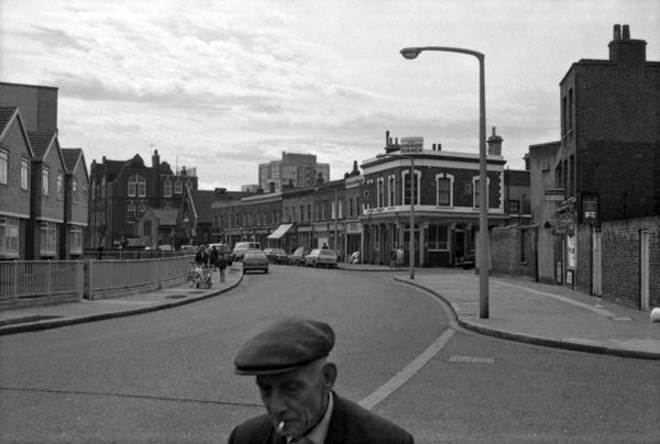 Bonner St, Bethnal Green, London, photo by Tony Hall