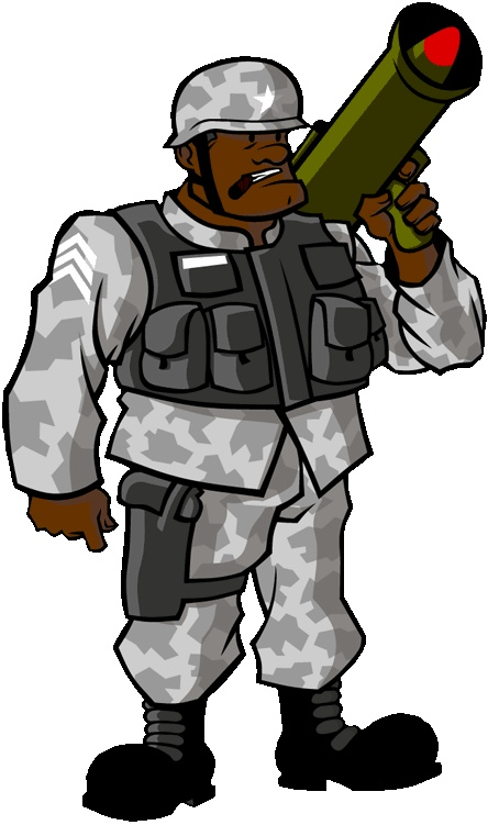 Screaming sergeant from #MyArmy on iOS