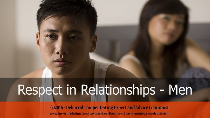 respected dating com Do you ever think about how to respect your husband here are the 5 respect needs of men and why they really need respect.